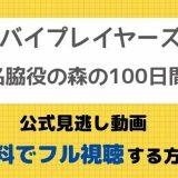 バイプレイヤーズ~名脇役の森の100日間~見逃し動画